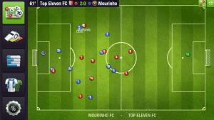تحميل لعبة كرة القدم توب اليفن top eleven 2020 الجديدة للاندرويد اخر اصدار