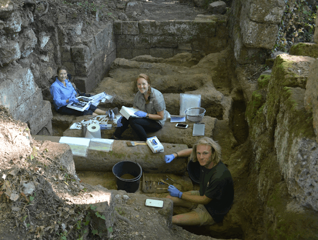 Etruscan, medieval site unearthed in San Giuliano