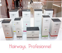 gamme capillaire hairways professionnel