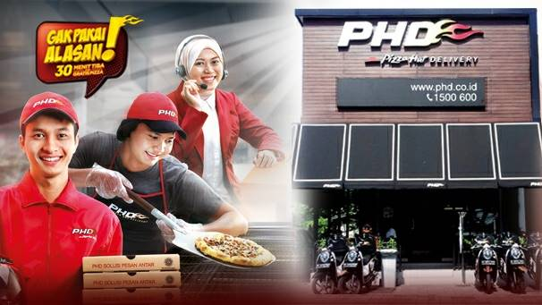 Lowongan Kerja Crew Delivery di Pizza Hut Delivery (PHD) Jakarta