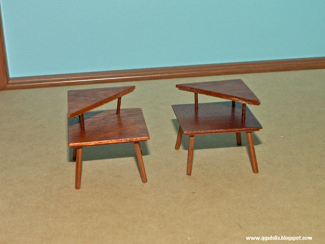 Ggsdolls Amazing Mid Century Modern End Tables By Minisx2