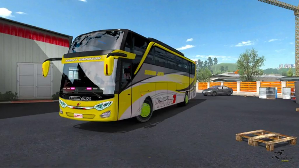 Jetbus 3 Shd By Rindray Mod Ets2 Indonesia