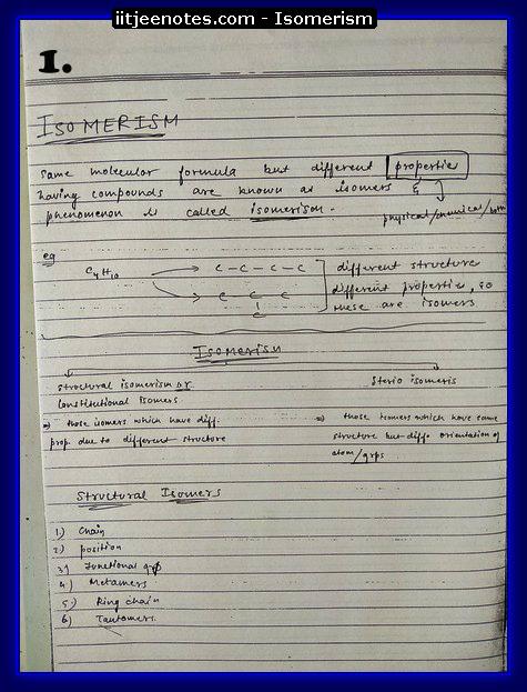 Isomerism1