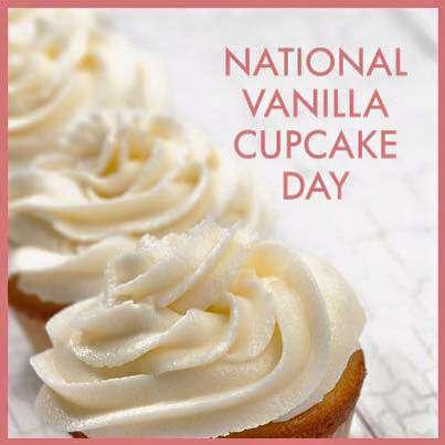 National Vanilla Cupcake Day Wishes