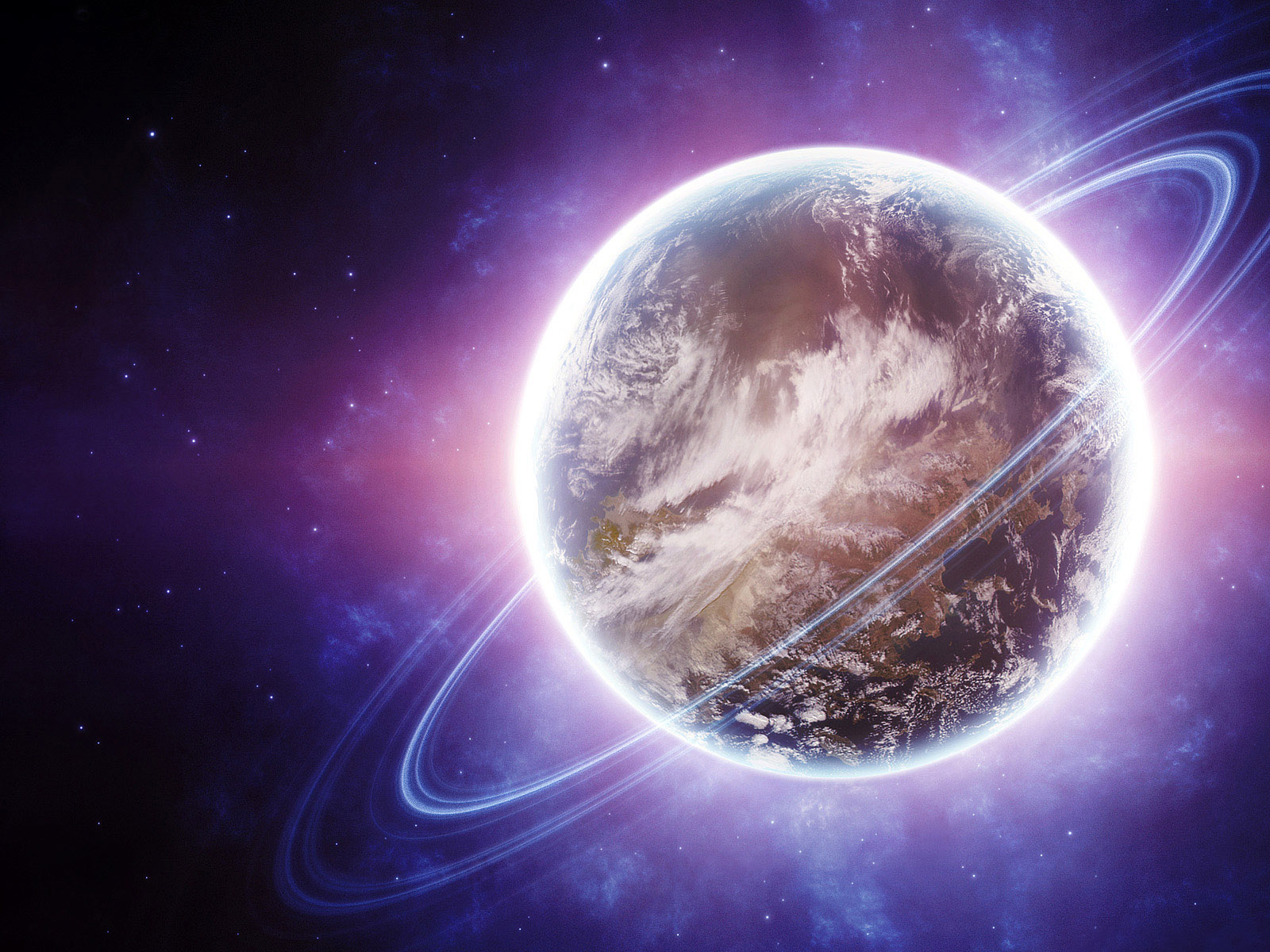 Desktop Backgrounds 4U: Planets