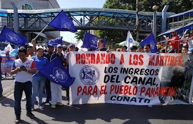 CGTP Participa junto a CONATO de los actos en conmemoracion de la gesta del 9 de enero.