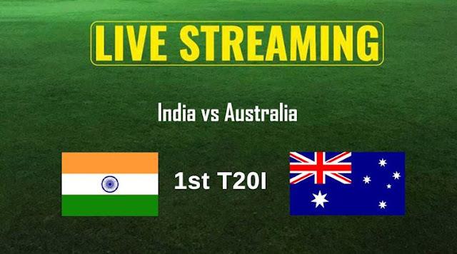 India vs Australia, 1st T20I Live Streaming