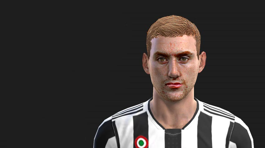 Dejan Kulusevski Face For PES 2013