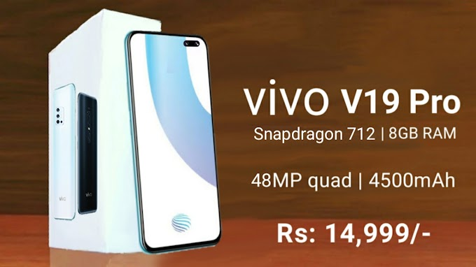 Vivo v19 to come with 48 megapixel rear camera and Dual under display selfie