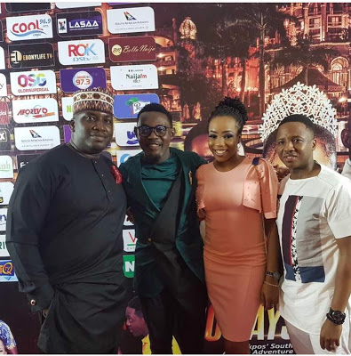 "Comedian AY's New Movie ""10 Days In Sun City"" Premieres In Lagos, Nigeria"