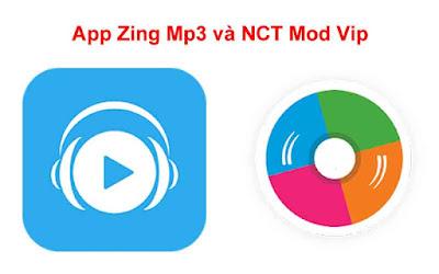 Chia sẻ 2 App Nghe Nhạc Zing Mp3 Và NCT Mod Vip Free Download