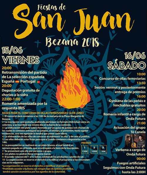 Fiestas de San Juan en Bezana 2018