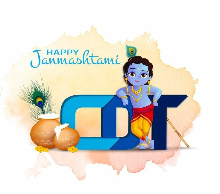 happy-janmashtami-little-krishna-art