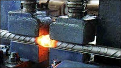 soldando metal