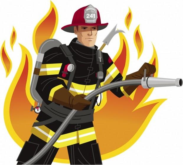 clipart fireman - photo #36