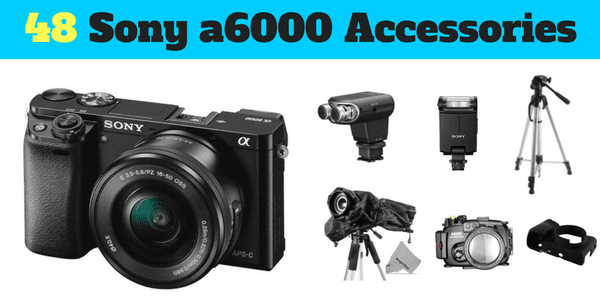 48 accessories for sony a6000