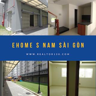 Shophouse Ehome S Nam Sài Gòn khu đô thị mizuki park