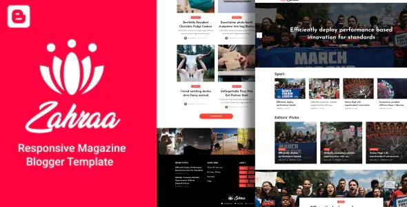 Best Lifestyle Blog & Magazine Blogger Template