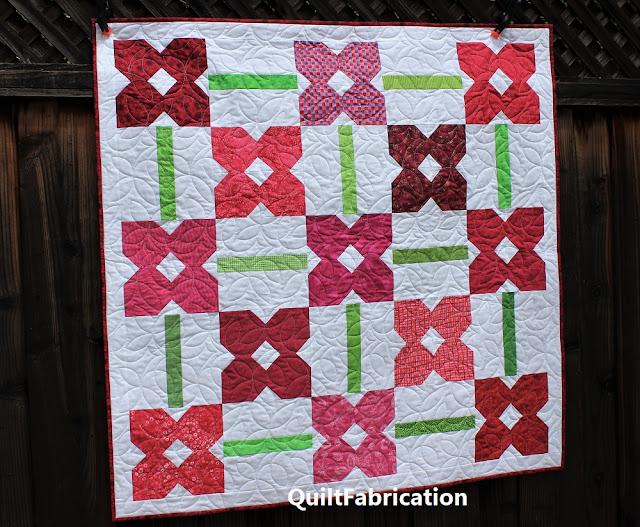 Petunia Patch #1 quilt