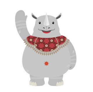 maskot asian games 2018, Kaka