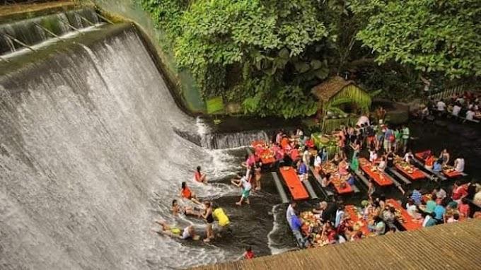 Waterfalls at Villa Escudero Plantations and Resort