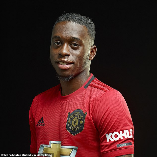 Manchester United complete £50m signing of Aaron Wan-Bissaka from Crystal Palace and he'll earn £80,000 a week (Photos)