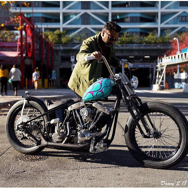 Harley Davidson Shovelhead By Nick P Hell Kustom