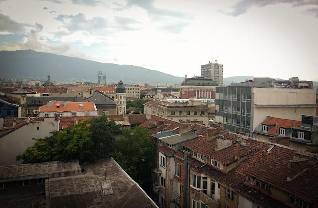 View from Swimming Pool; Sofia, Bulgaria