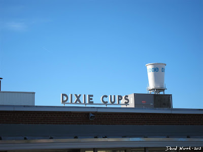 Dixie Cup Factory and Water Tower