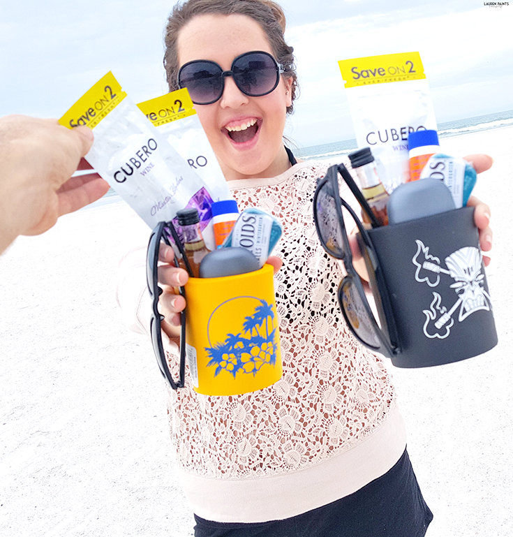 Whether you are looking for a fun way to hint to your hubby that you're ready for a vacation or you're planning a sunny stay over the holidays, these cute beach kits are the perfect way to make sure your man has everything he needs! #masteryourblend