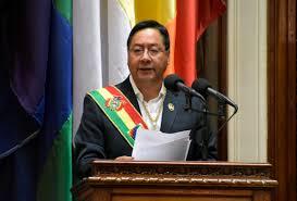 En el primer discurso de Luis Arce como presidente prometió reconstruir al país suramericano