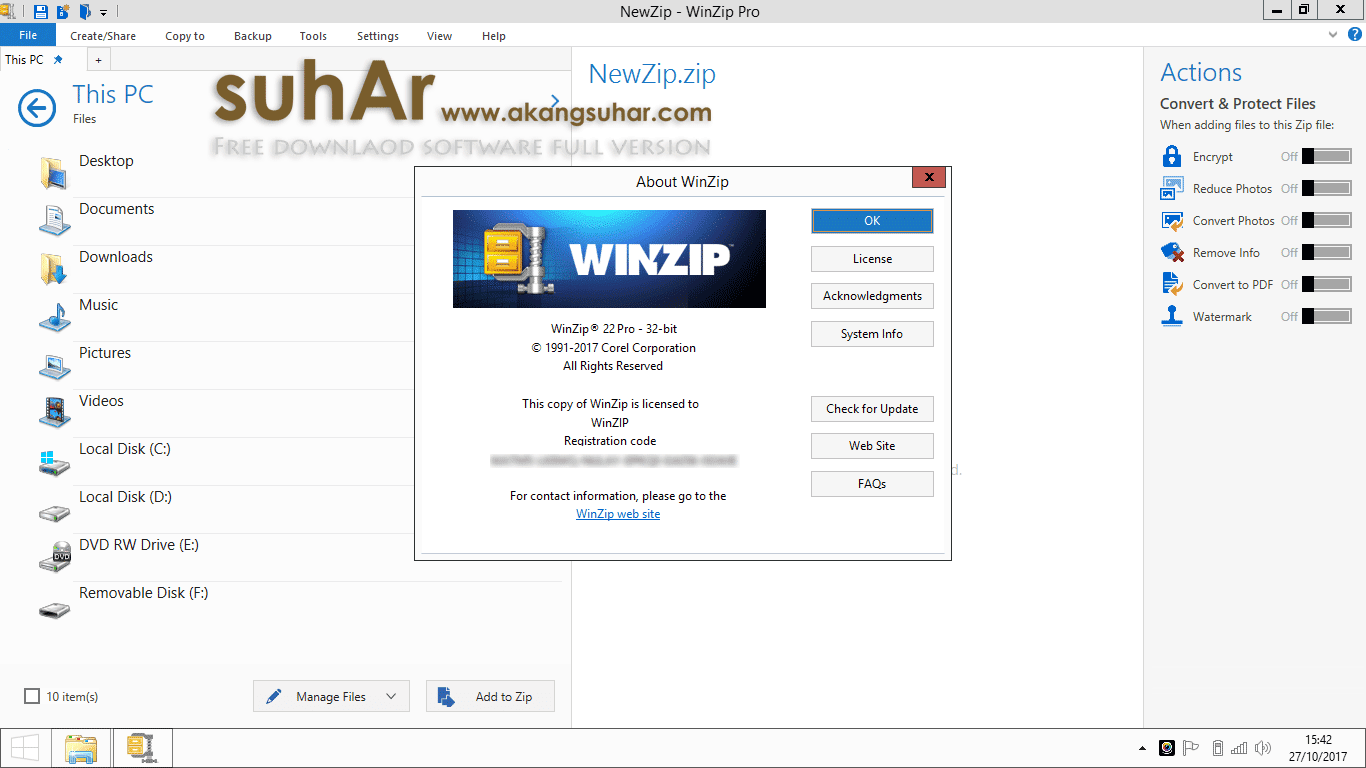Gratis Download WinZip Pro Full Crack Terbaru, WinZip Pro Full Keygen, WinZip Pro Activation Code
