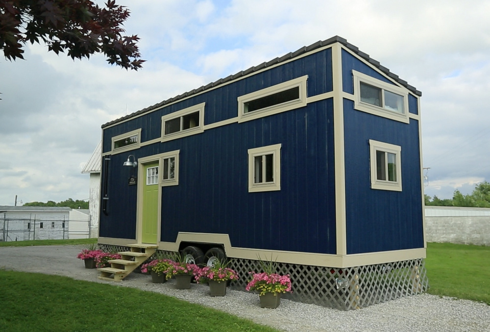 The Bohemian Escape 220 Sq Ft The Homes Of Tiny House