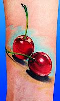 tatuaj cu cirese