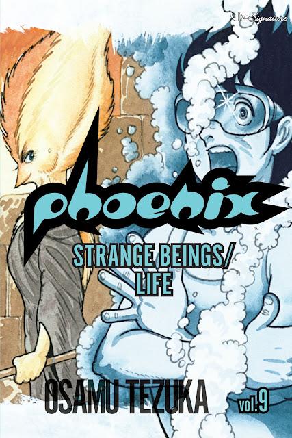 Manga cover of the Phoenix Volume 9 by Osamu Tezuka