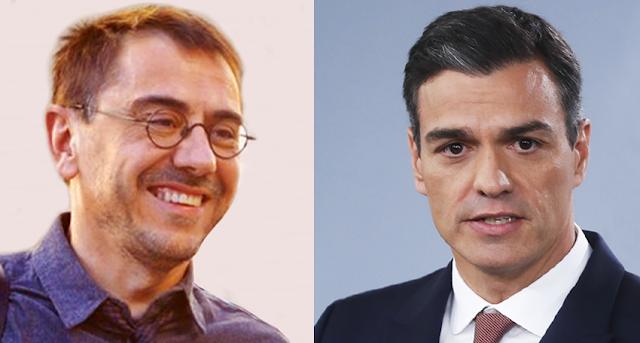 ZASCA! de Juan Carlos Monedero a Pedro Sánchez