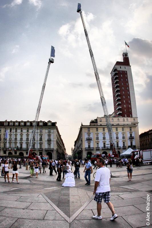краны в Турине