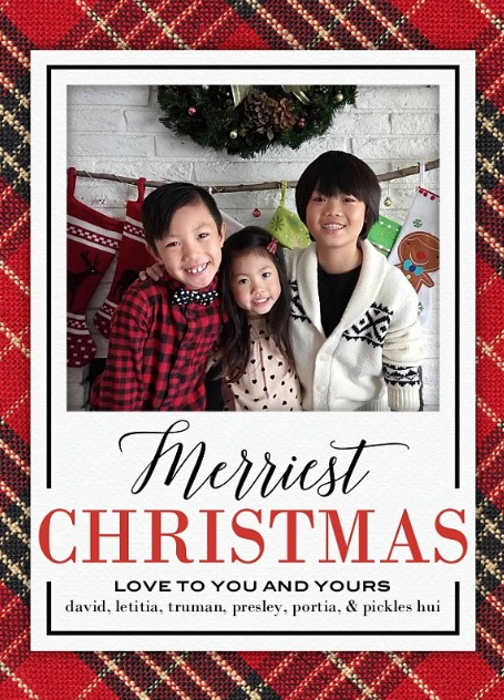 christmas photo card from shutterfly.com for all your holiday card needs