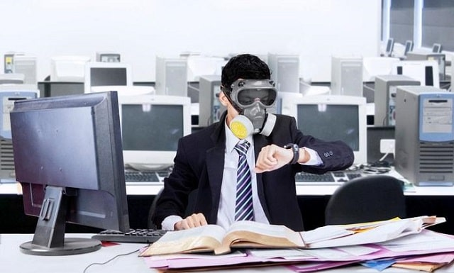 office clean air safe breathing workplace clean vents workspace ventilation