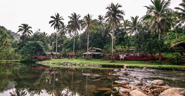 nakatagong paraiso riverside camping Real Quezon