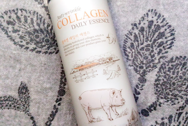 Esfolio Anti-wrinkle Collagen Daily Essence Review The Shapeshifting Cat