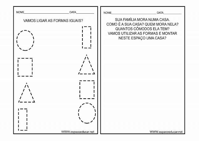 Livrinho: cores e formas geométricas
