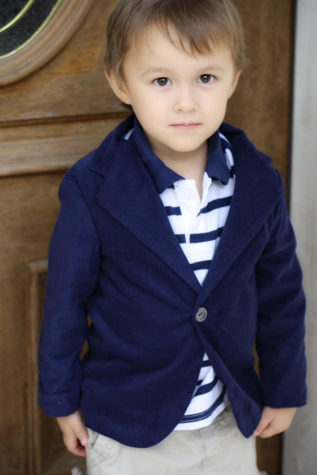 Toddler Boy Long Blonde Hair Surfer: Toddler Blazer Pattern Now Available