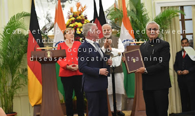Cabinet approves MoUs signed between India and German agency in occupational diseases, vocational training