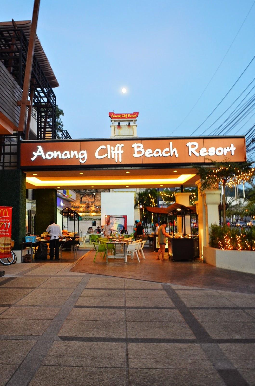 Trip To Krabi Thailand Aonang Cliff Beach Resort