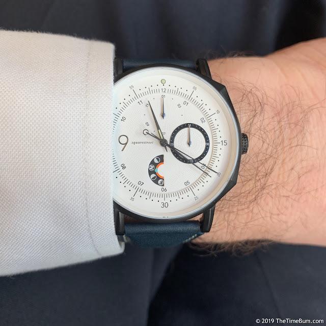 Squarestreet SC39 Novum NS02 wrist