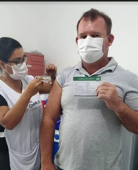 Prossegue a vacinação dos profissionais do Pronto Atendimento e Posto Avançado Covid-19