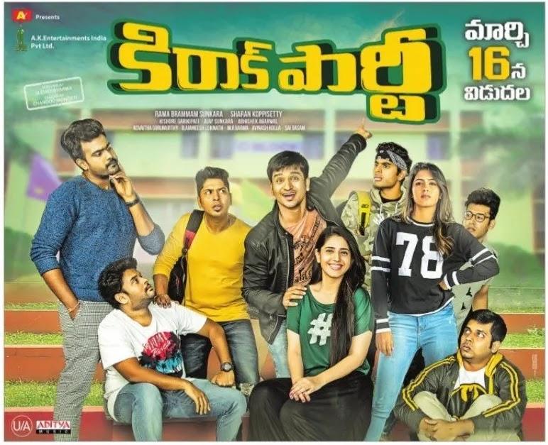 Kirrak Party (2018) Telugu Full Movie Poster Movierulz