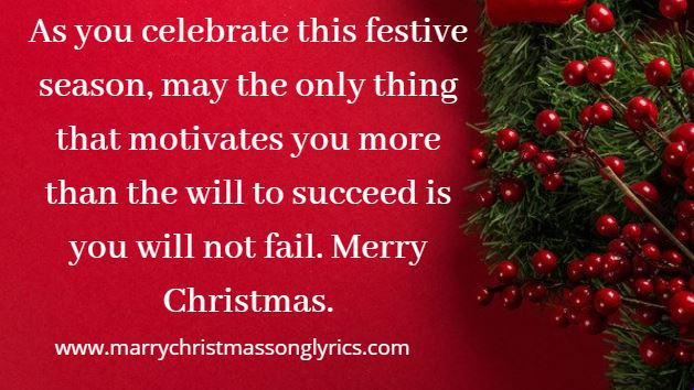 Inspirational Christmas Message for Family and Friends