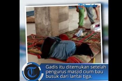 H4m1L. di Luar Nik4h, Gadis Ini 6u9urkan K4nduungan dan Kubur J4.n1n di Toilet Masjid